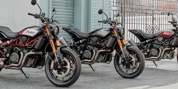 Indian FTR1200 motorcyklar